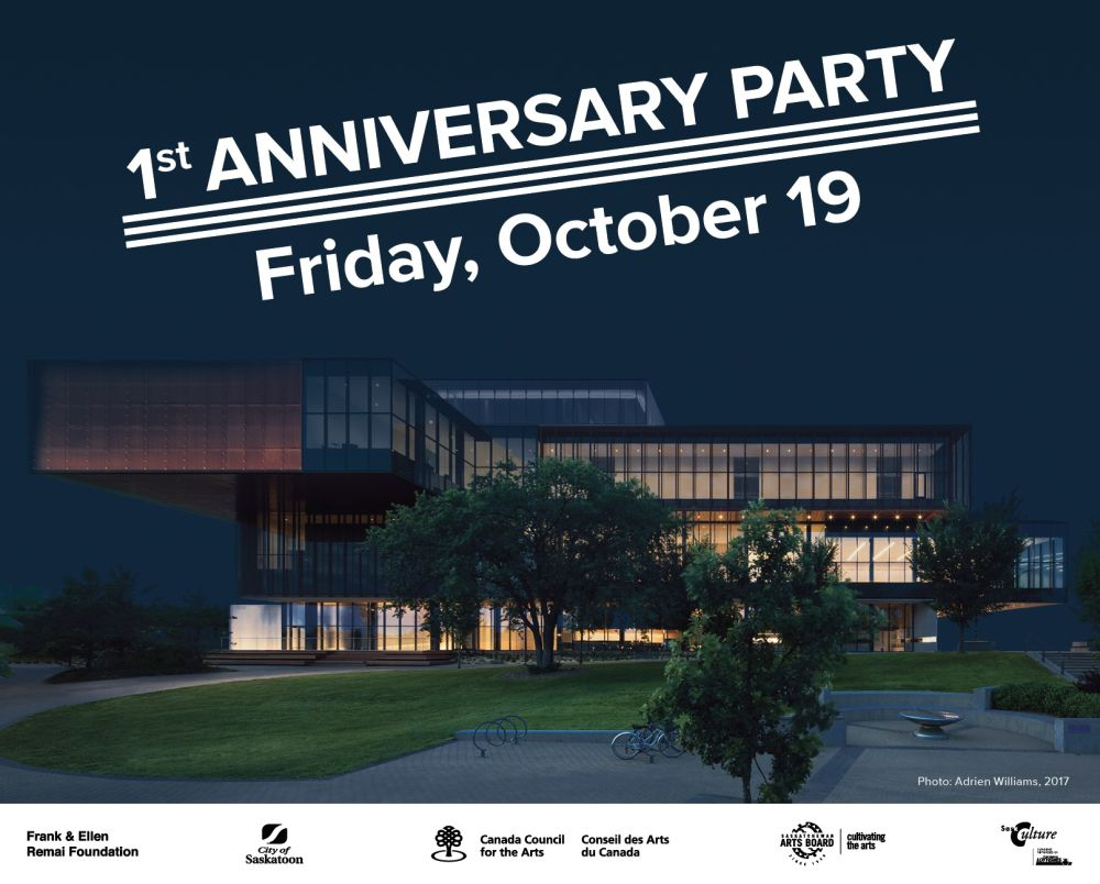 Remai Modern First Anniversary