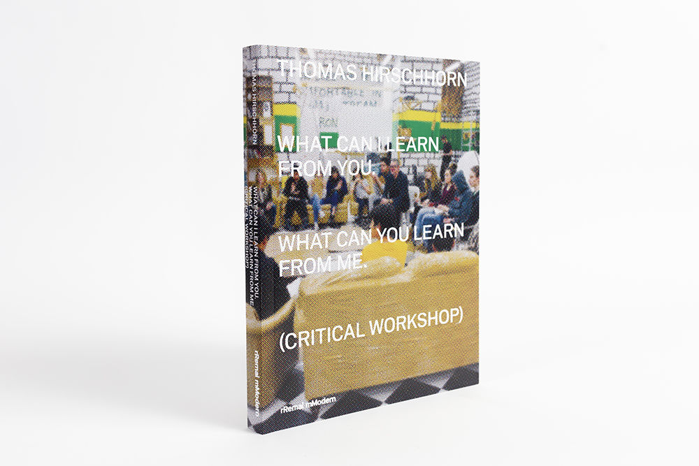 WHAT CAN I LEARN FROM YOU. WHAT CAN YOU LEARN FROM ME. (CRITICAL WORKSHOP)