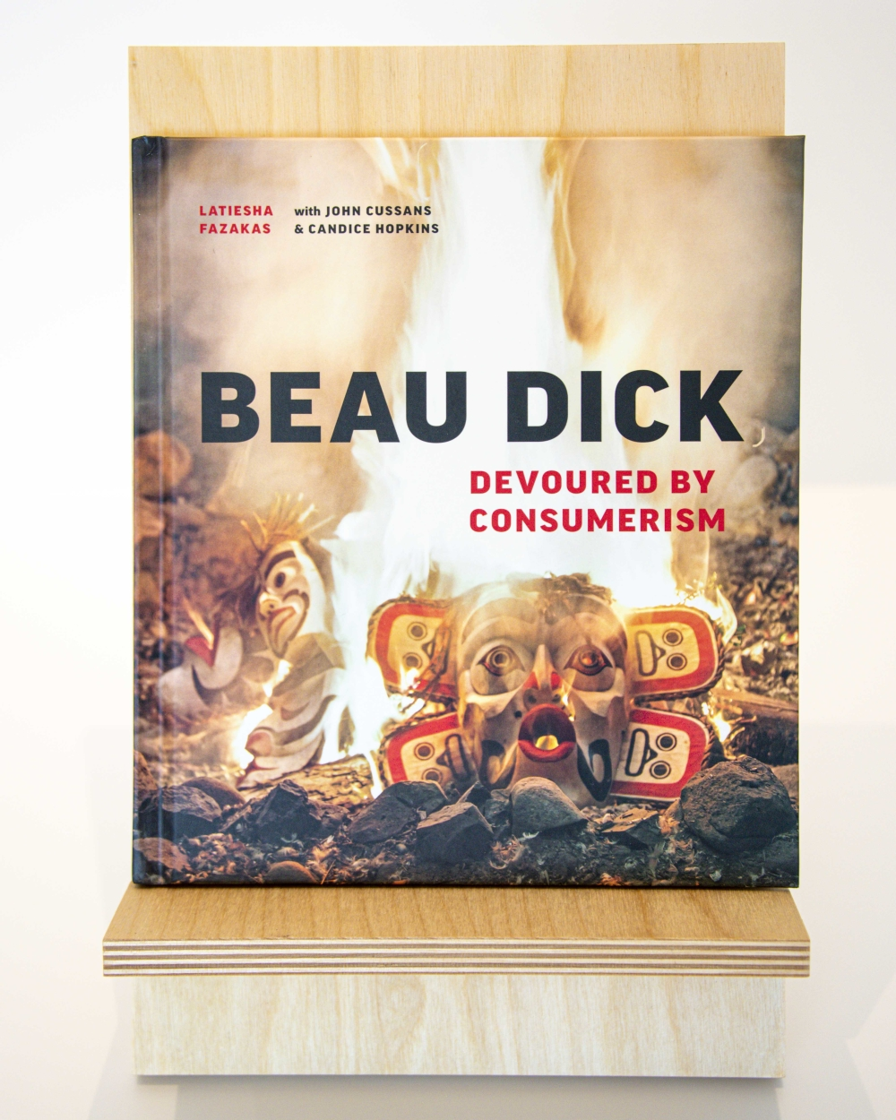 Beau Dick Devoured By Consumerism